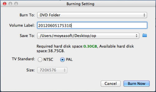 MKV to Blu-ray settings