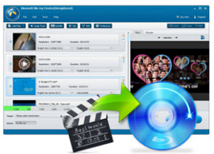 Create Blu-ray disc with any video