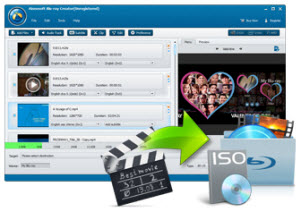 Turn your video to Blu-ray folder/ISO file