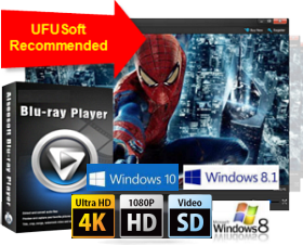 UFUSoft Blu-ray Player for Windows 10/8/7-Best Blu-ray Player for