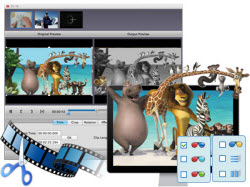 Edit video and set 3D effect freely
