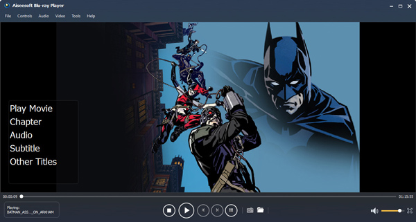 UFUSoft Windows Blu-ray Player Screenshot