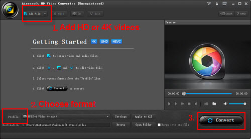 Nikon 4K Video Converter - Add Nikon D500 4K UHD video