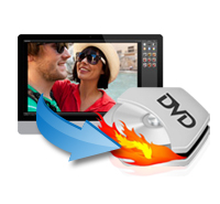 Burn video files to DVD
