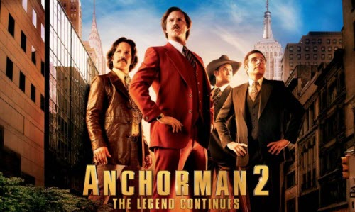play Anchorman 2: The Legend Continues Blu-ray on Mac