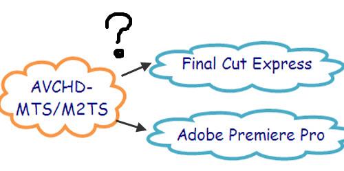 Convert MTS/M2TS to FCE/Adobe Premiere Pro, MTS Adobe1