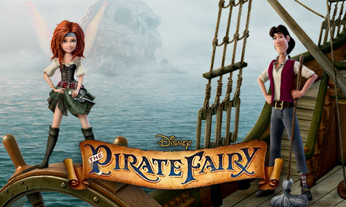 play The Pirate Fairy Blu-ray on Mac