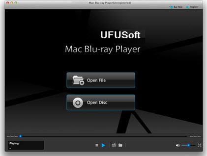 Mac Mavericks Blu-ray Player