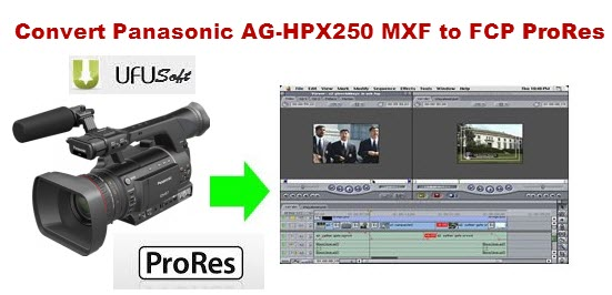 Panasonic P2 AVC-Intra MXF Video Converter for Mac