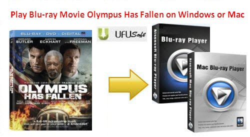 Olympus Has Fallen Blu-ray Player for Windows 8
