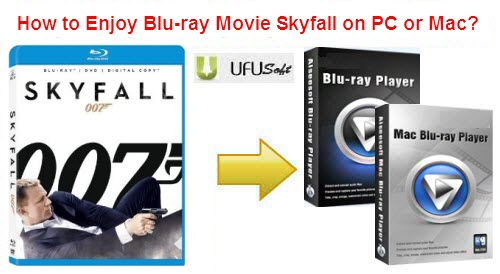 The Skyfall Blu-ray Player for Windows 8