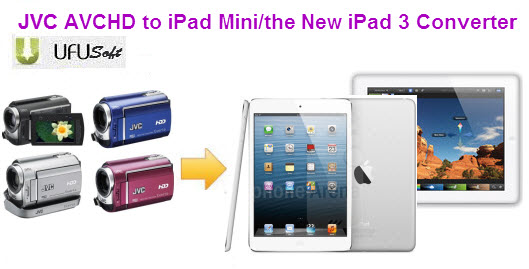 JVC AVCHD MTS to iPad Mini/the New iPad 3