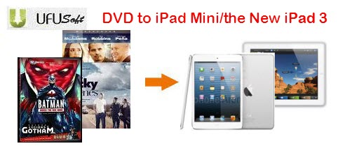 DVD on iPad Mini/the new iPad 3 converter