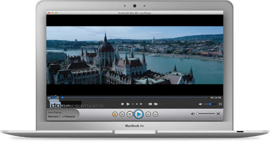 play Blu-ray disc or Blu-ray ISO Files on the Macbook Air
