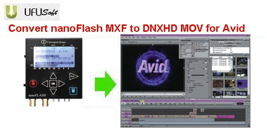 nanoFlash MXF to Avid converter