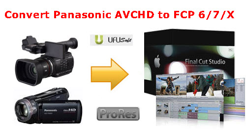 Mac Panasonic 60p/50p MTS to FCP X converter