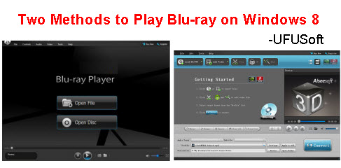 play Blu Ray movies on Windows 8