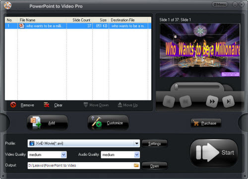 convert PPT/PPS/PPTX to iPad 4 Video