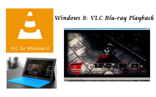 VLC play Blu Ray movies on Windows 8.1/8/7