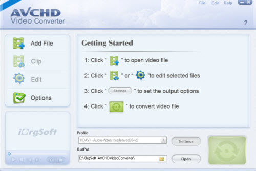 sony xacti hd video converter