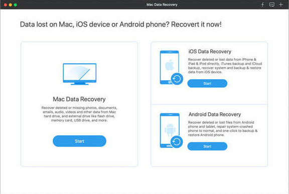 Date/File Recovery for Mac Mavericks
