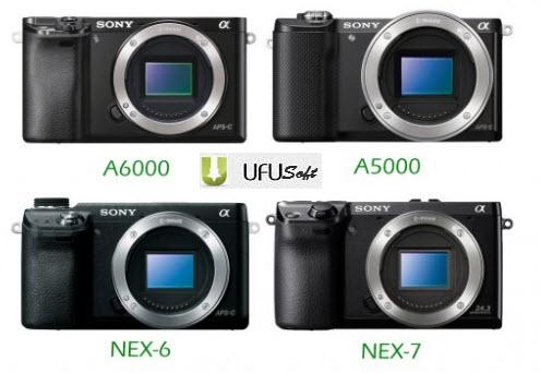 Sony Alpha A6000/A5000/NEX-7/NEX-6