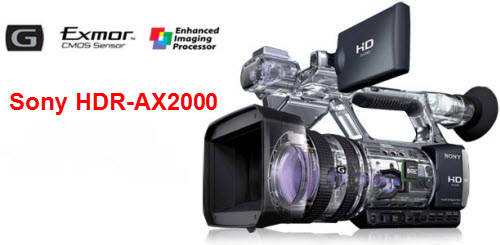 Sony's HDR-AX2000