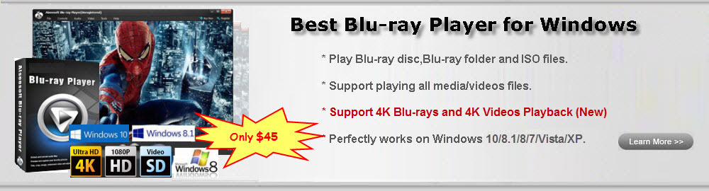 Learn More about UFUSoft Blu-ray Player