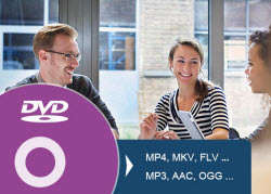 Rip/Convert DVD to high quality MP4 or MKV files