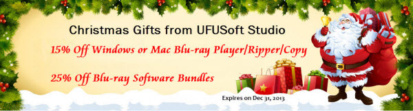 For 2013 Halloween:(Only $33.15)UFUSoft Mac Mavericks/Mountain Lion Blu-ray Player Software