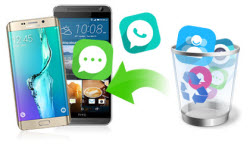 Recover contacts/SMS/photos/videos/music from Android phone/tablet